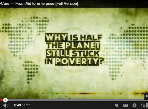 Video: Poverty cure