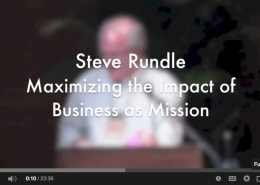 Video: Steve R. Maximizing BAM
