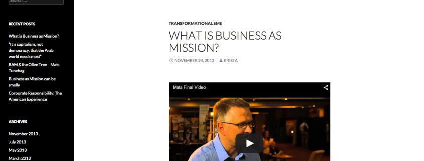 Link: Tranformational SME